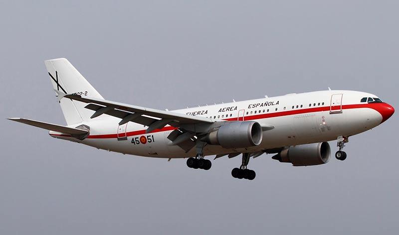 avión de la reina