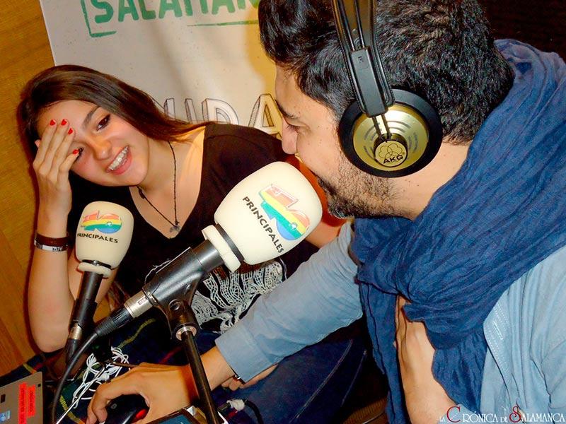 40 Principales, Cadena 40, Cadena Ser, Tony Aguilar, oyentes, radio, música, Auryn, fans, ciudad 40, Salamanca ciudad 40