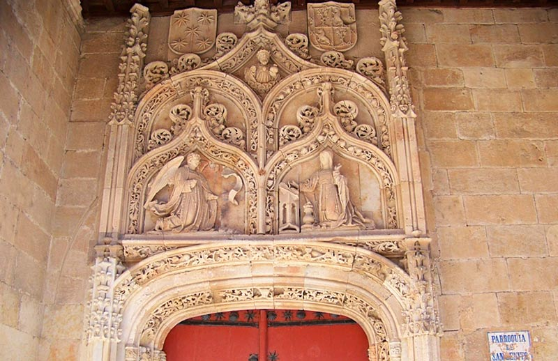san benito iglesia fachada