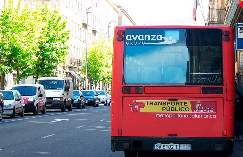 transporte autobus metropolitano