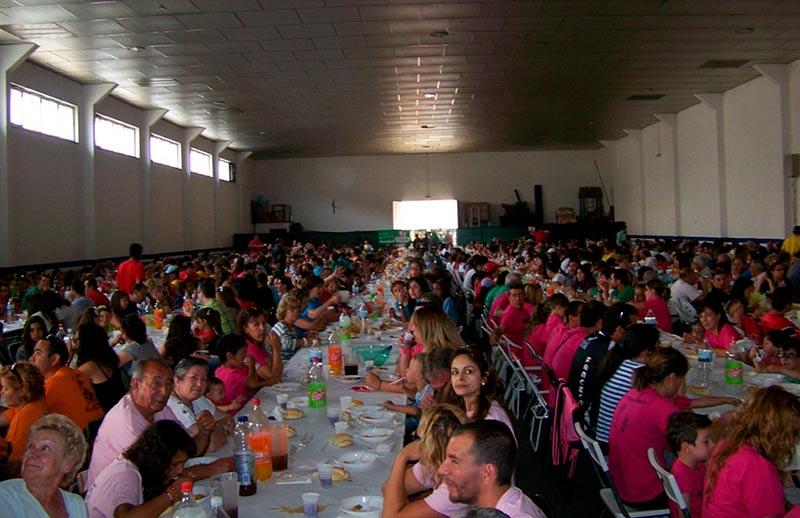 villares fiestas paella popular