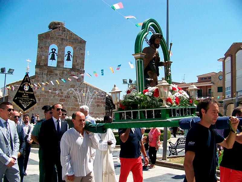 carbajosa procesion san roque
