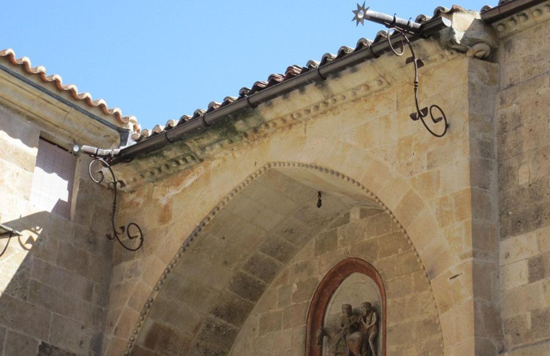 iglesia san Martin humedades
