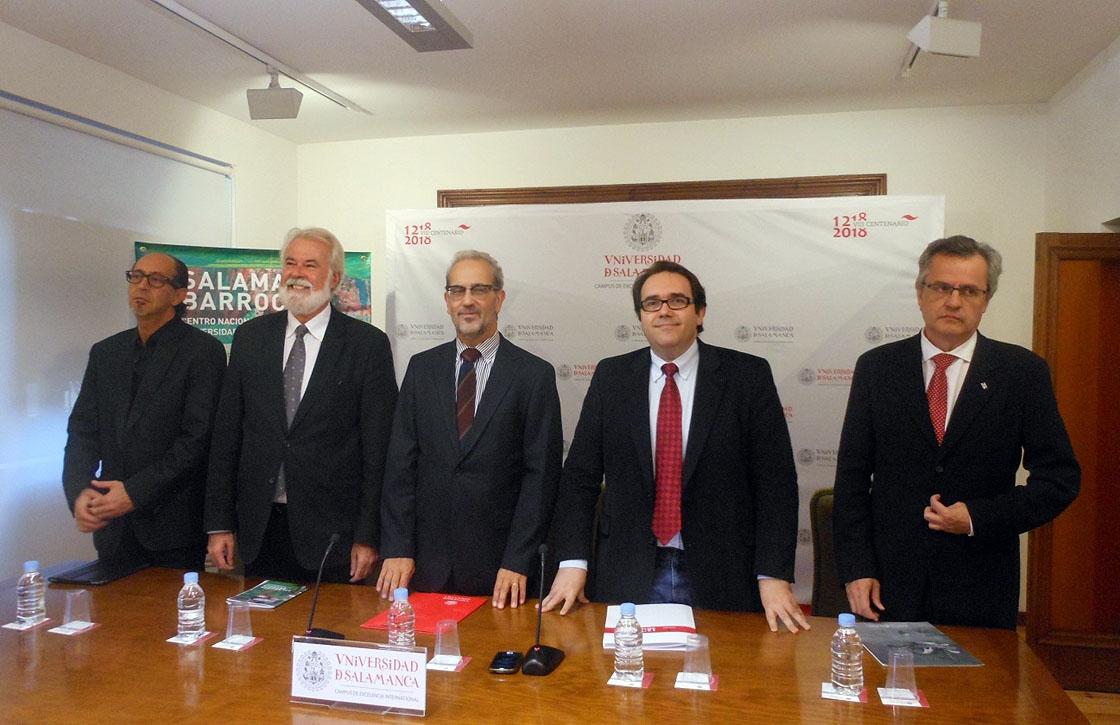 La presentación de la nueva edición de 'Salamanca Barroca'.
