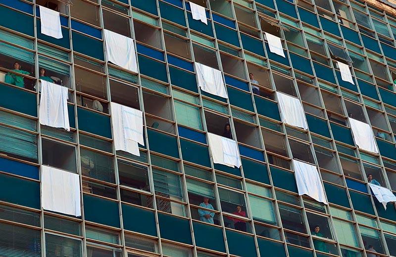 hospital virgen vega marea blanca sabanas ventanas