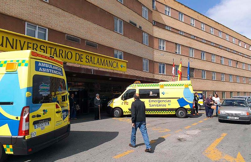 hospital accesos