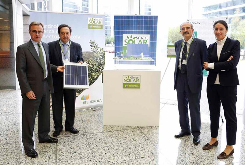 Iberdrola y asaja desarrollar n la energ a fotovoltaica en for Oficinas de iberdrola en madrid