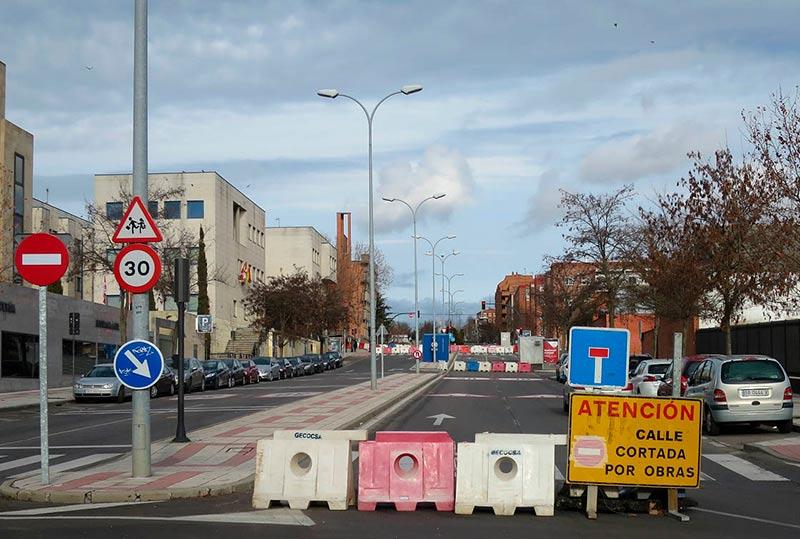 obras peña francia corte carretera estacion autobuses 3