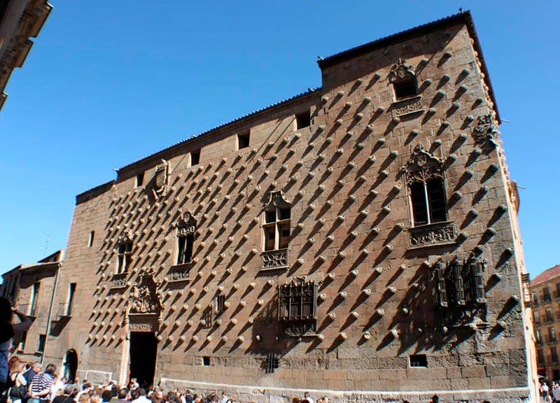 historia de la Casa de las Conchas de Salamanca