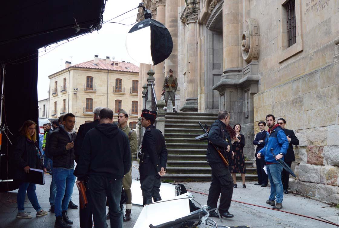 Comienza en Salamanca rodaje de nueva película de Alejandro Almenábar