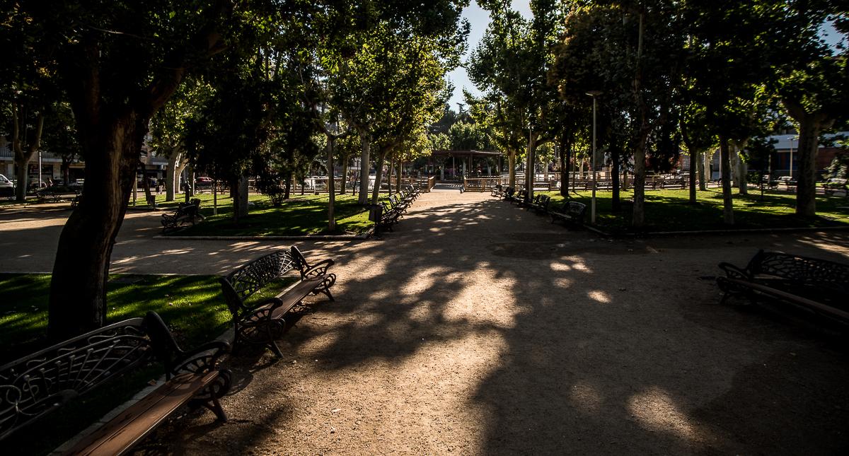 Hace 100 a os la alamedilla era un parque 39 non grato 39 for Piscina alamedilla
