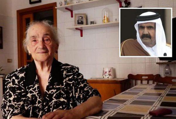 Un jeque árabe devuelve la hospitalidad a la italiana que le abrió su baño hace 21 años
