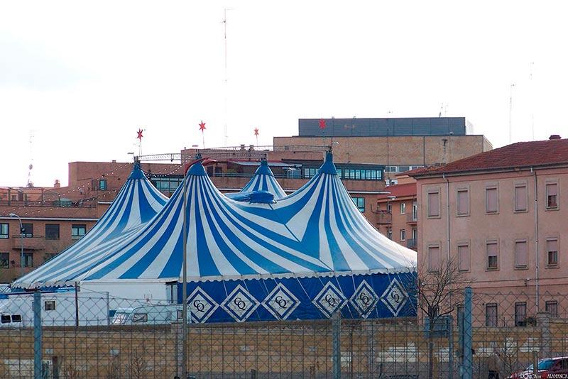 circo en la ciudad