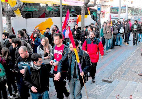 Marchas de la Dignidad 22m Salamanca Madrid