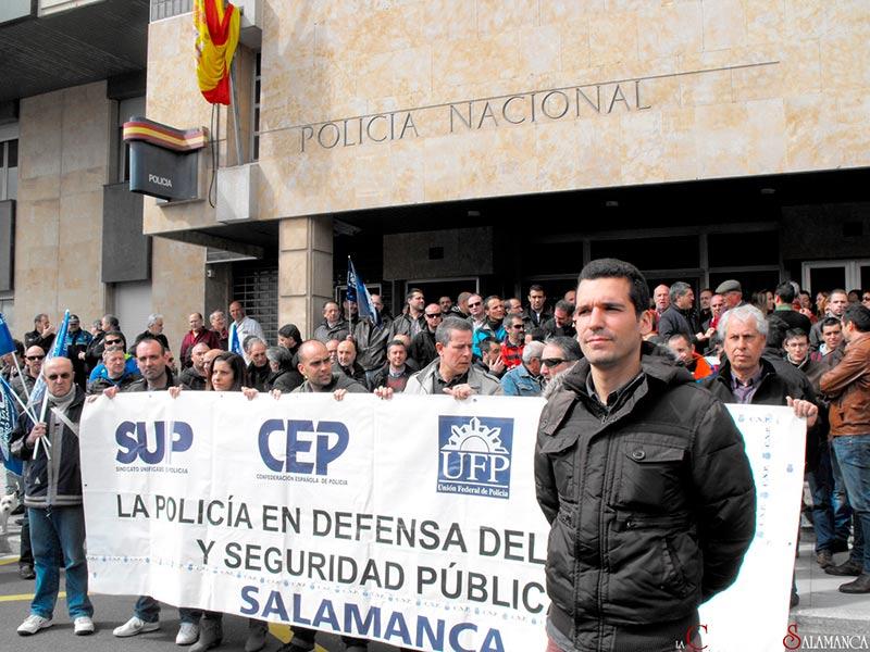 Policía, SUP, concentración, 22M, Machas de la Dignidad