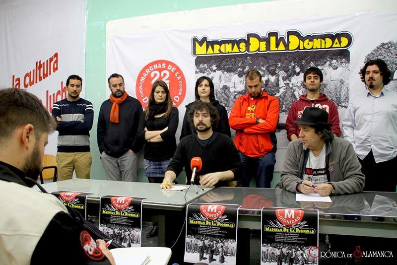 Marchas por la Dignidad 22M Salamanca. Spanish Revolution.