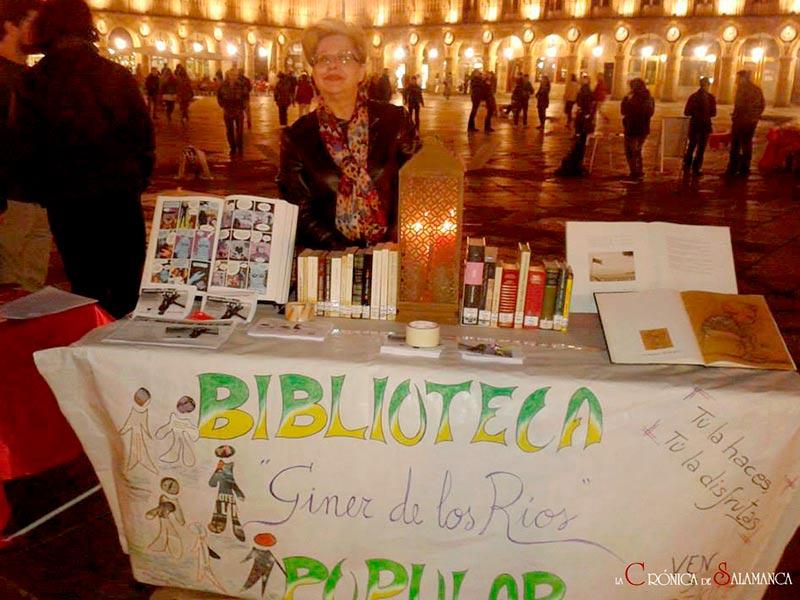Biblioteca Popular Giner de los Ríos en el Barrio San José de Salamanca