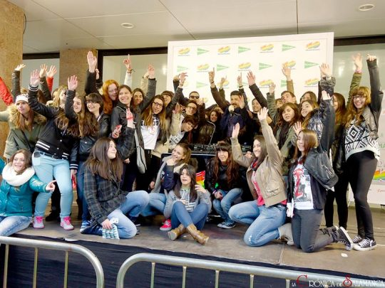 Salamanca Ciudad 40, Fan Event con Tony Aguilar en Salamanca