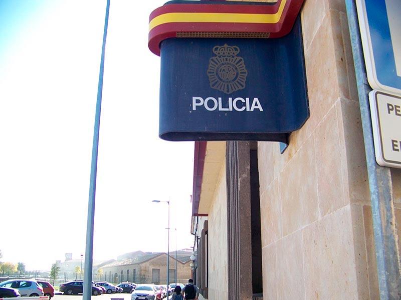 policía comisaría