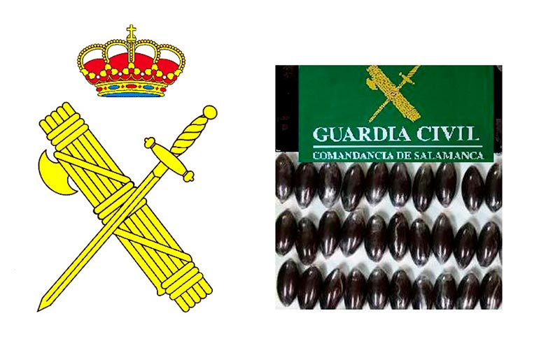 guardia civil droga