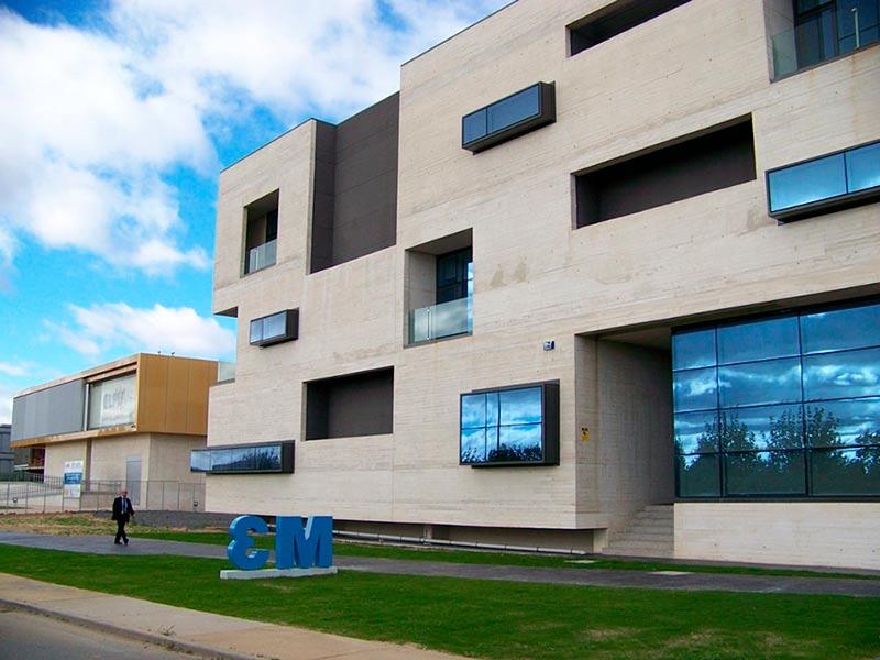 El edificio M3 del parque científico de la Universidad.