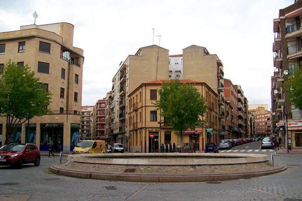 plaza del oeste