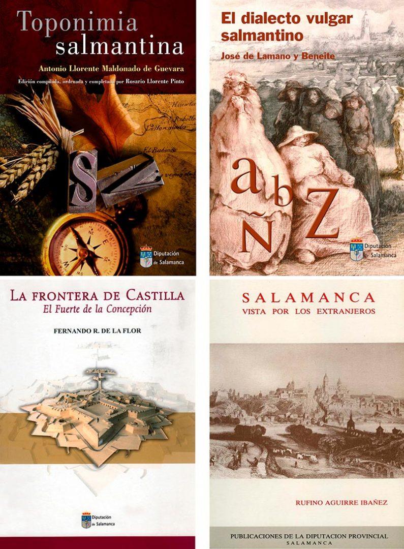 Diputación de Salamanca. Libros editados y digitalizados sobre Salamanca.