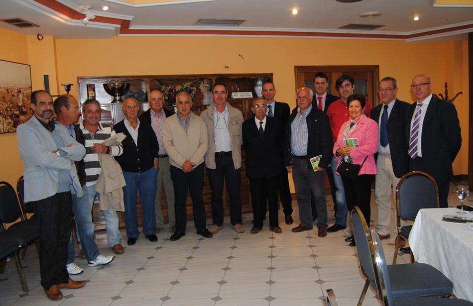 Saloro se reúne con los alcaldes de la comarca de Vitigudino