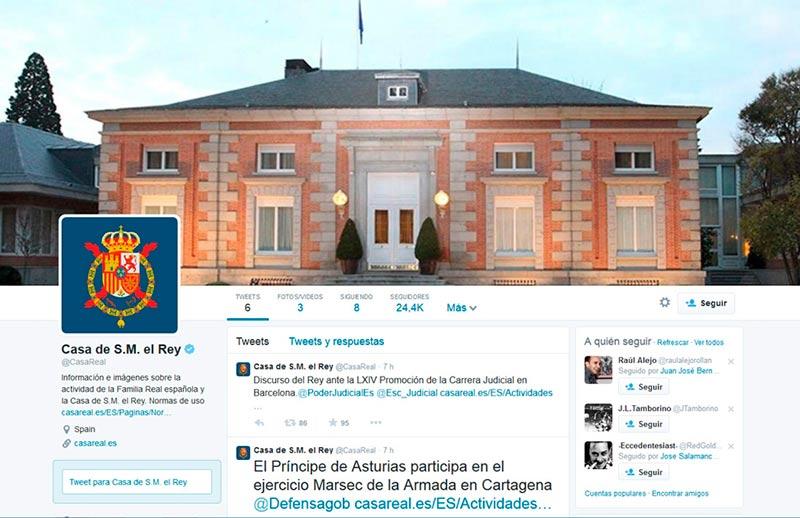 casa real twitter