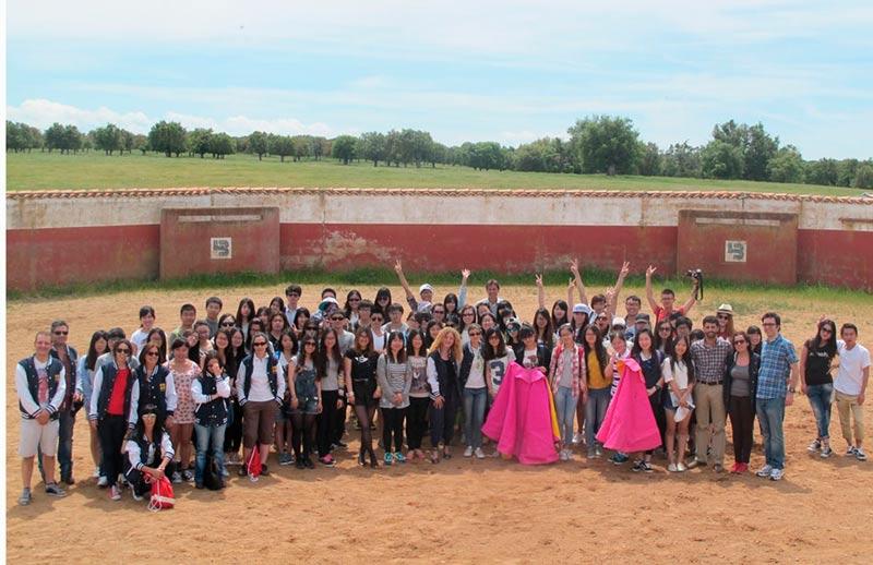 Chinos estudiantes español pontificia