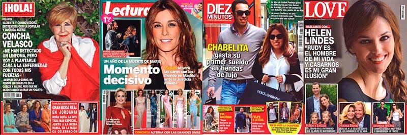 Revistas corazón