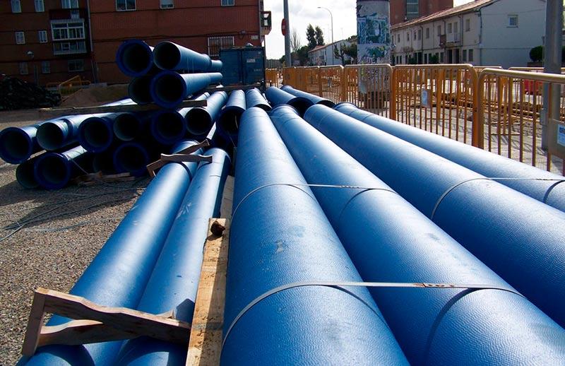 tuberías agua red abastecimiento