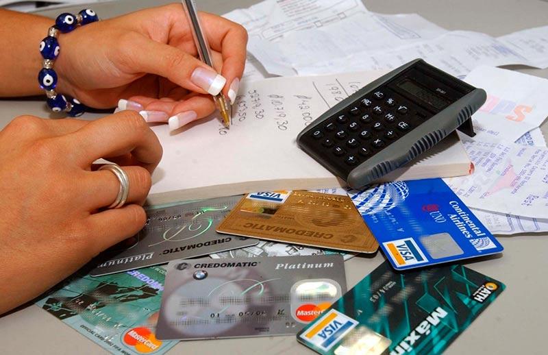 dinero creditos tarjetas intereses