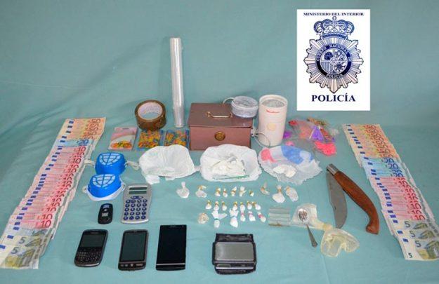 droga y efectos intervenidos policia