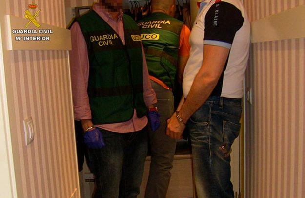 guardia civil secuestro empresario