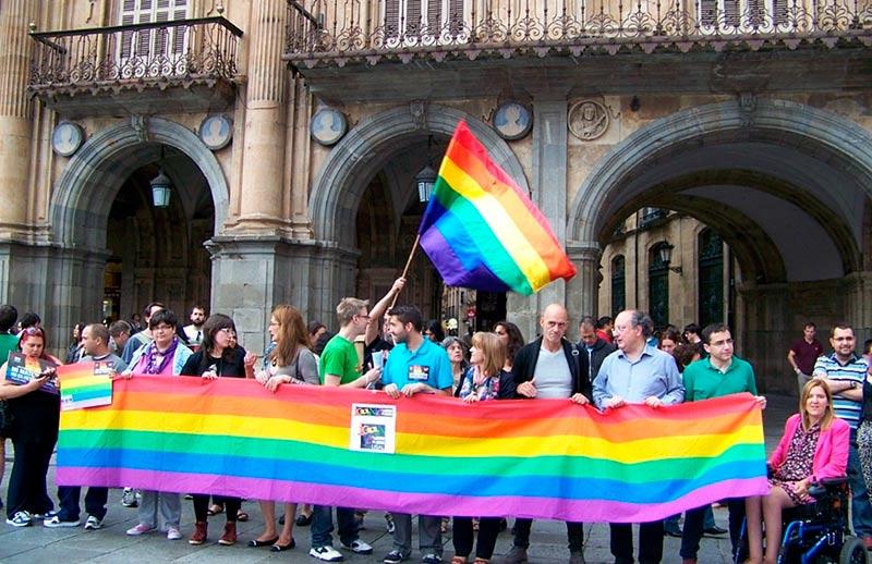 El día del orgullo gay en Salamanca en 2014.
