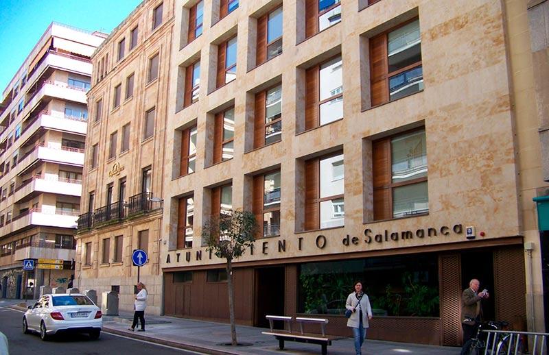 ayuntamiento de salamanca edificio administrativo