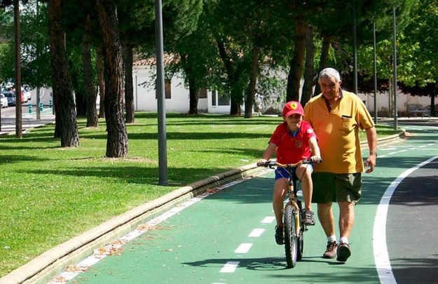 carril bici garrido