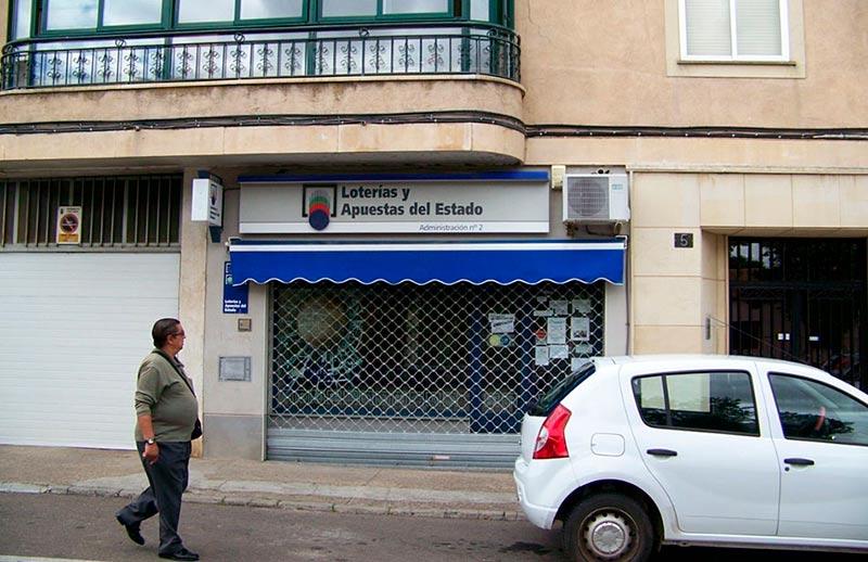 ciudad rodrigo administracion loteria