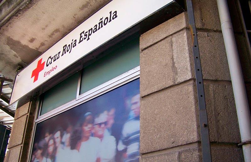 Edificio de Cruz Roja en calle Prado.