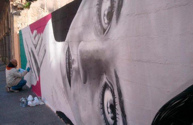 graffiti en gran via