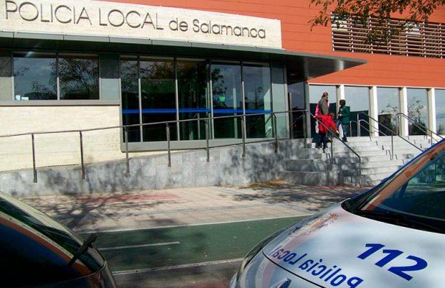 policia local edificio