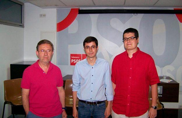 psoe coordinadores candidaturas secretaria general