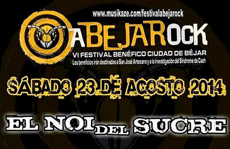 Cartel Abejarock 2014