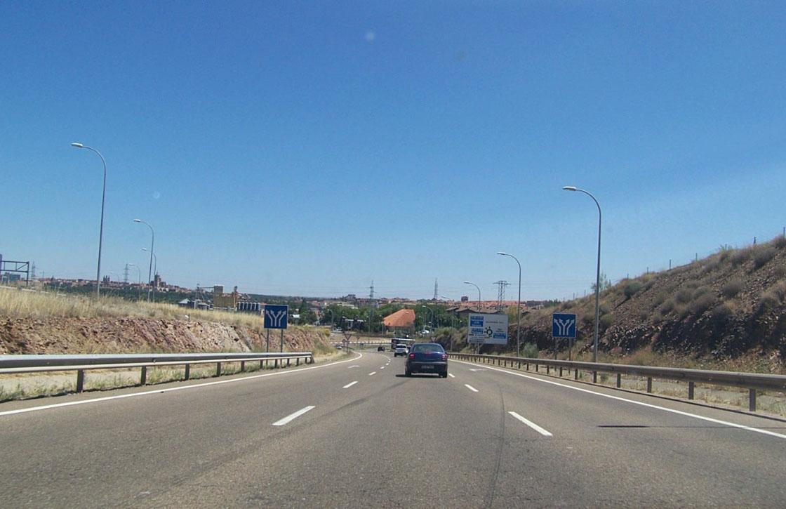 trafico carreteras salmantinas