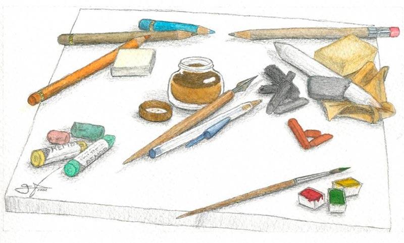 Los trabajos, uno por estudiante, del concurso de dibujo, se recogerán entre el 28 y el 30 de octubre en los centros participantes.