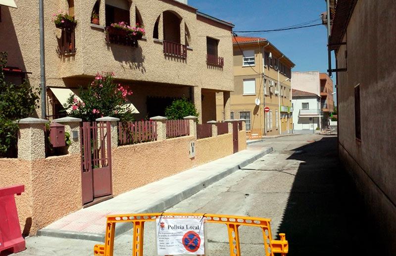 Carbajosa Obras calle Duque 3