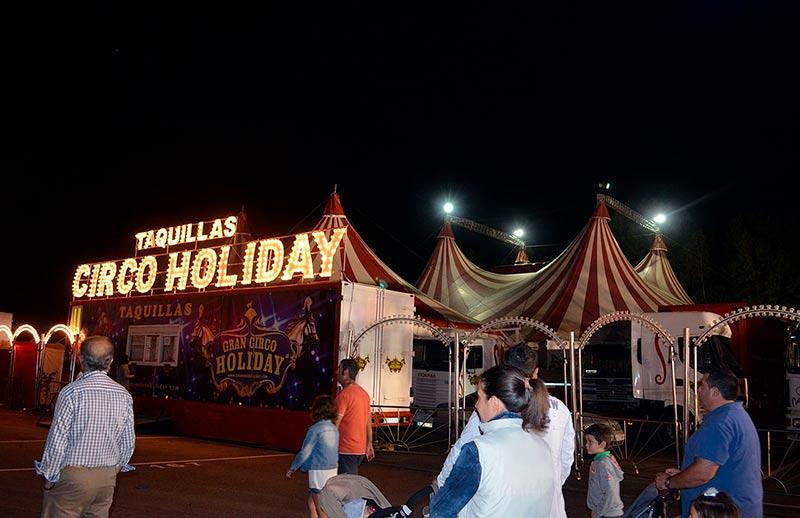 circo holiday en la aldehuela