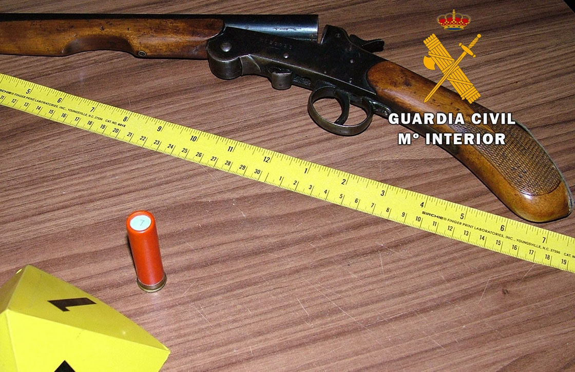 la escopeta recortada