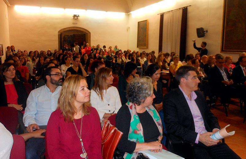 Los asistentes al acto de aniversario de la asociación Beatriz de Suabia.